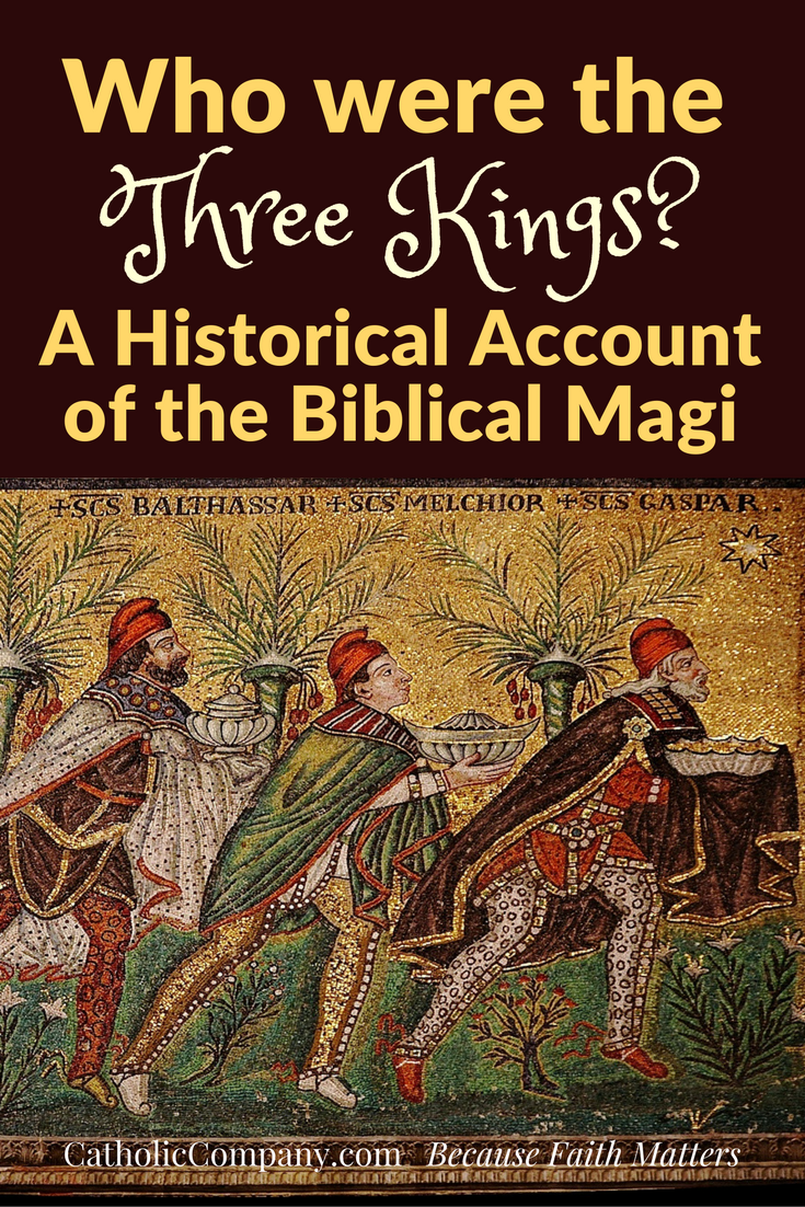 The Three Wise Men according to history and tradition