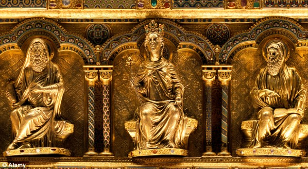 Reliquary of the Three Kings, Cologne, Germany