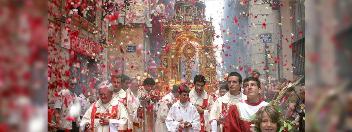 Corpus Christi Porocession