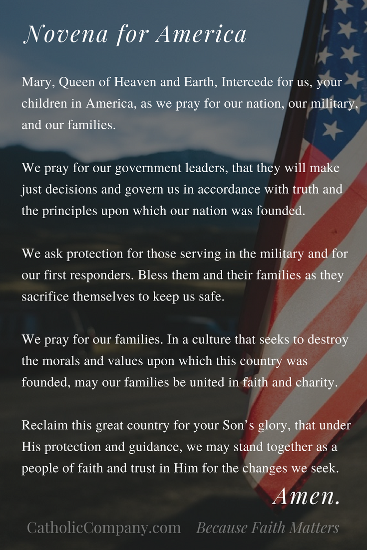 Novena for America by The Catholic Company
