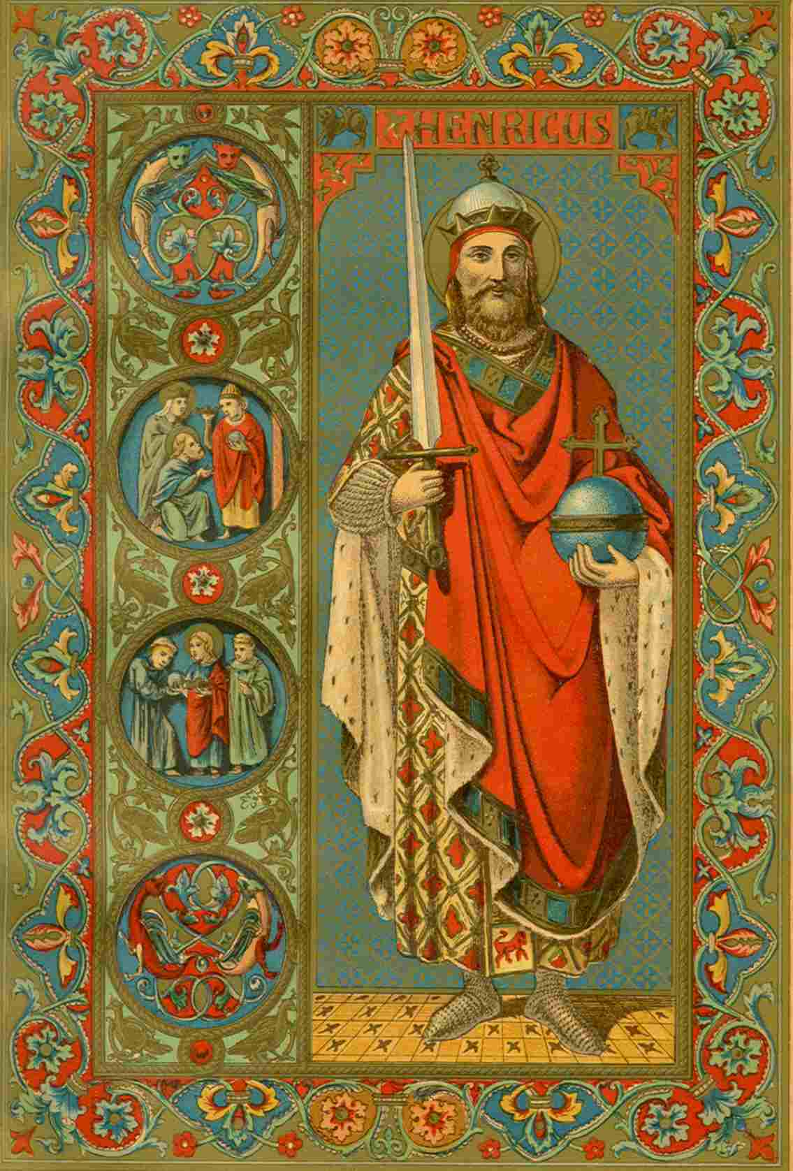 The Life of a Medieval Catholic King-Saint that Reads Like a Tolkien Story