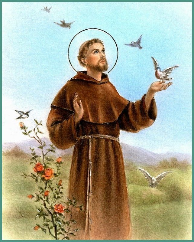St. Francis with birds