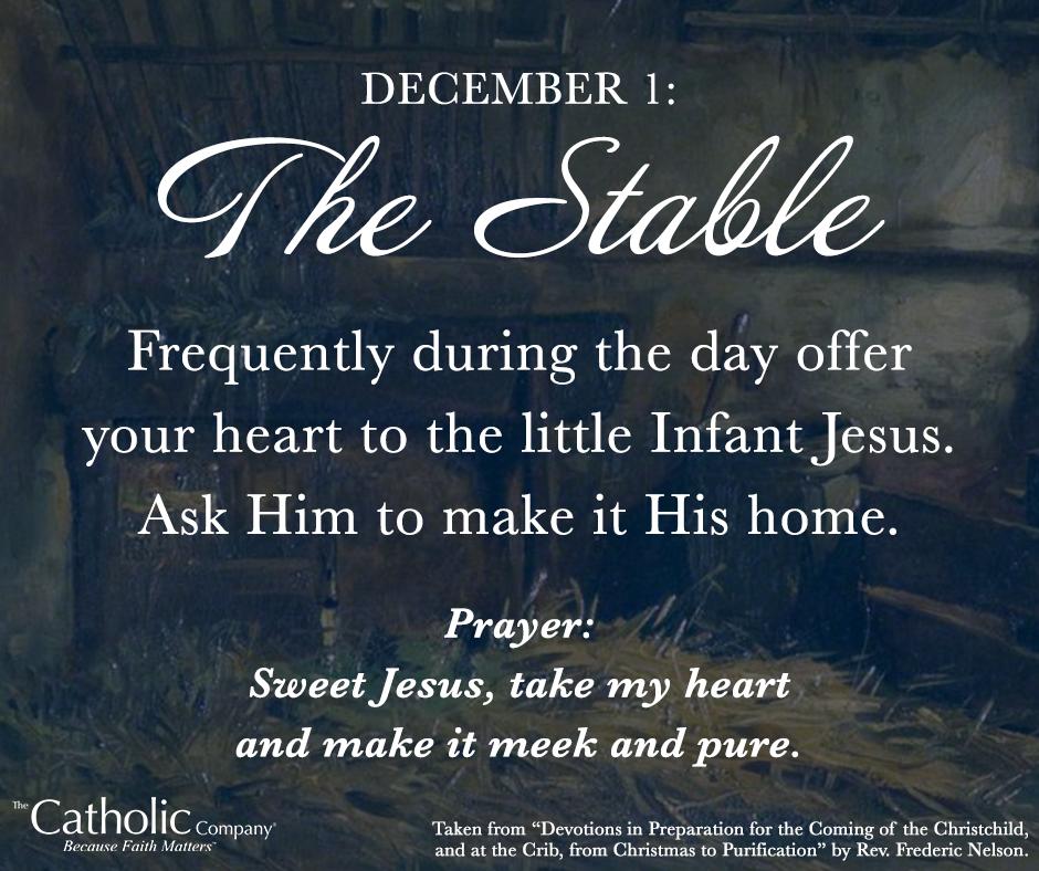 The Spiritual Christmas Crib: Day 1