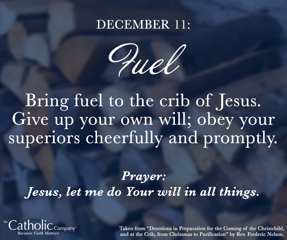 The Spiritual Christmas Crib: Day 11