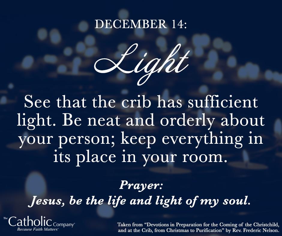 The Spiritual Christmas Crib: Day 14