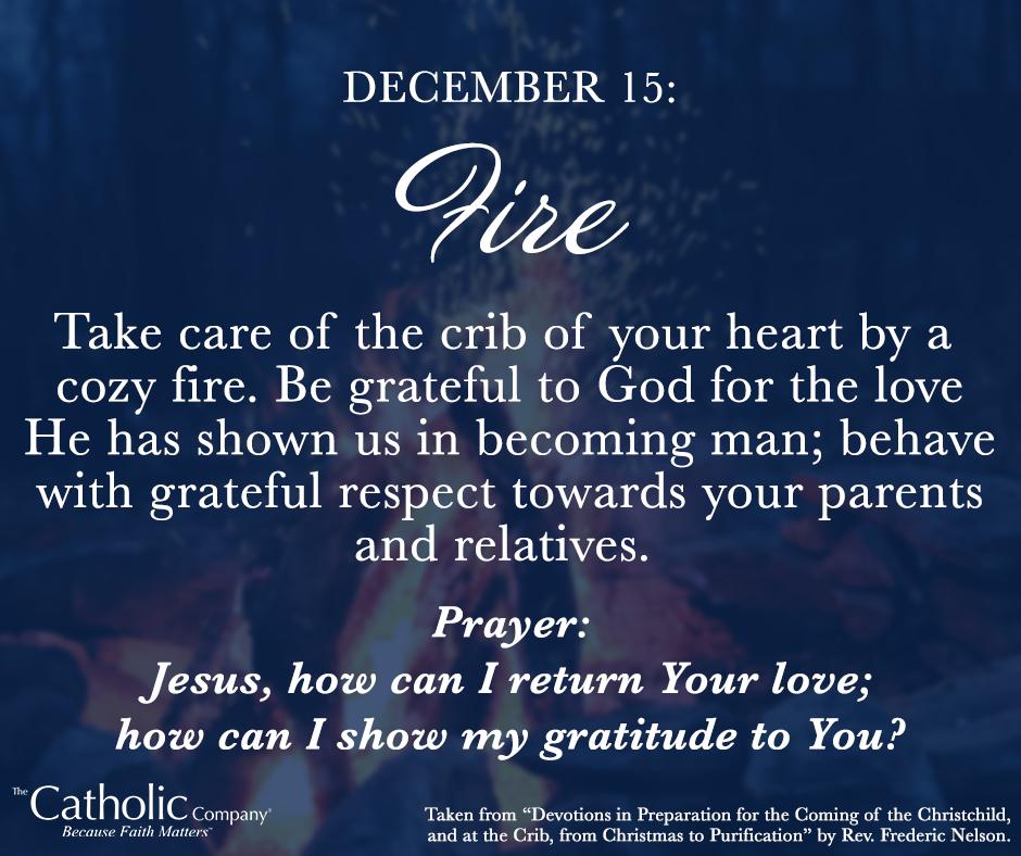 The Spiritual Christmas Crib: Day 15