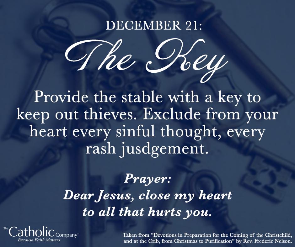 The Spiritual Christmas Crib: Day 21