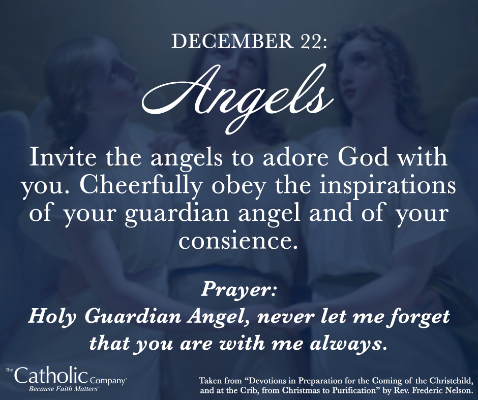 The Spiritual Christmas Crib: Day 22