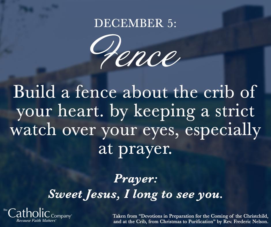 The Spiritual Christmas Crib: Day 5