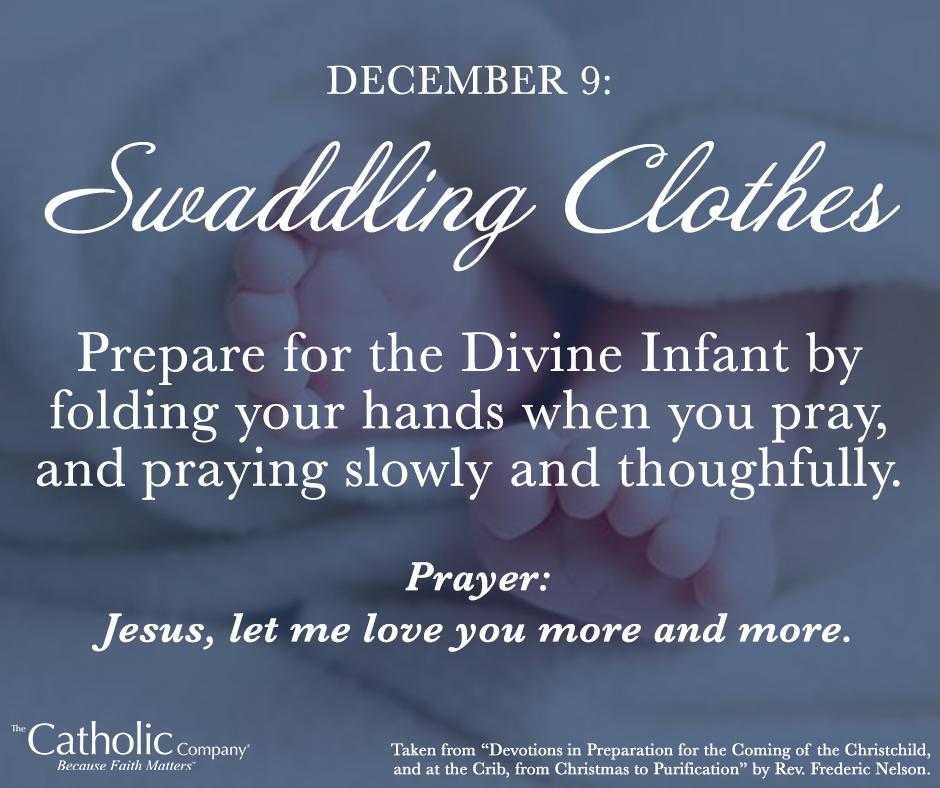 The Spiritual Christmas Crib: Day 9