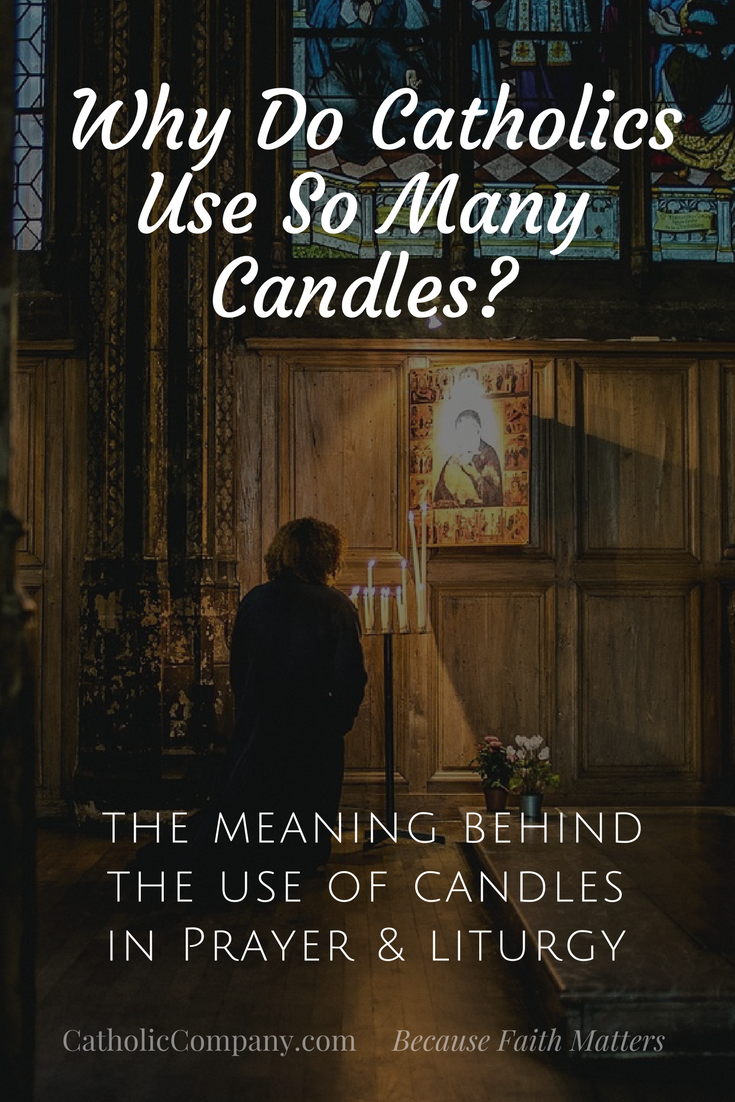 Why Do Catholics Use So Many Candles?   GetFed   The
