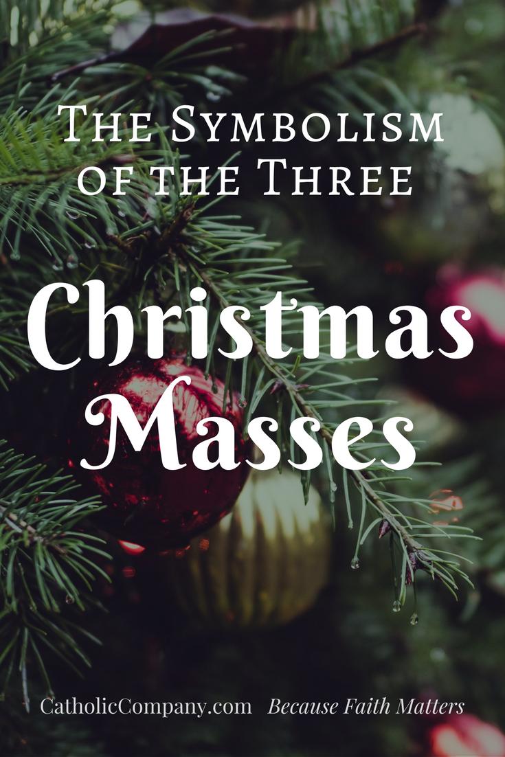 The Symbolism Of The 3 Christmas Masses The Catholic Company