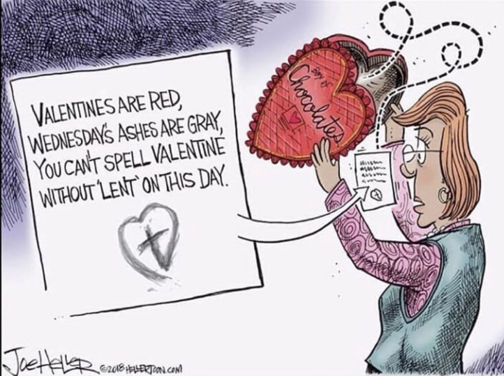 Joe Heller Valentine-Lent Comic