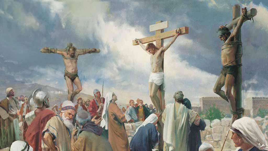Jesus is crucified on Good Friday