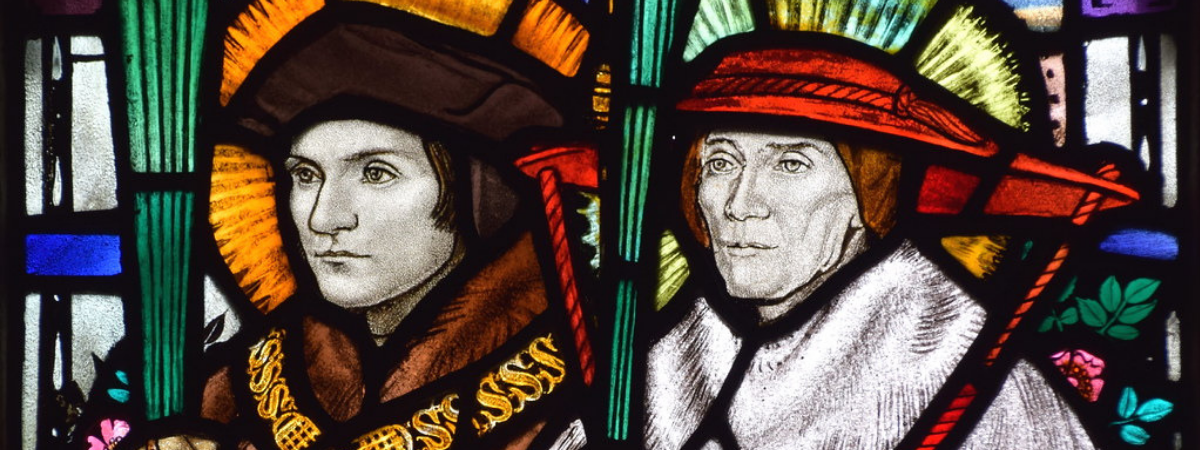 St. Thomas More and John Fisher window