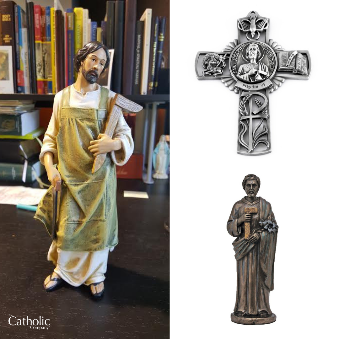 St. Joseph the worker items