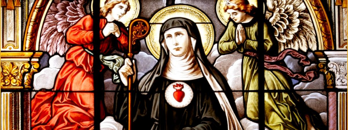 St. Gertrude portrait