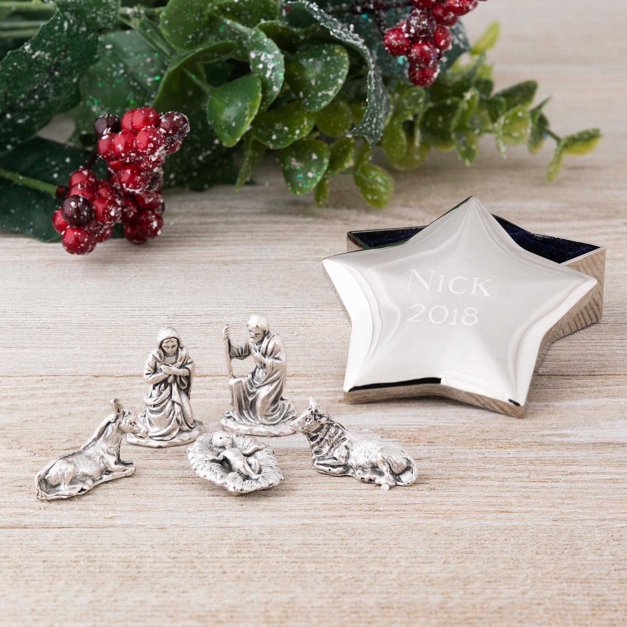 Christmas star set