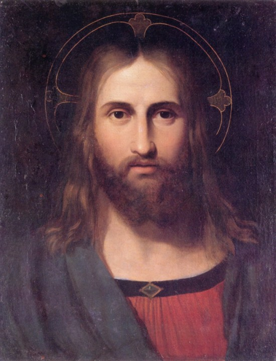 "Giuseppe Craffonara's ""Portrait of Christ"""