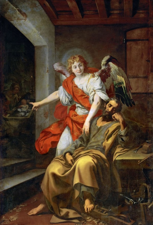 Daniele Crespi: Saint Joseph's Dream