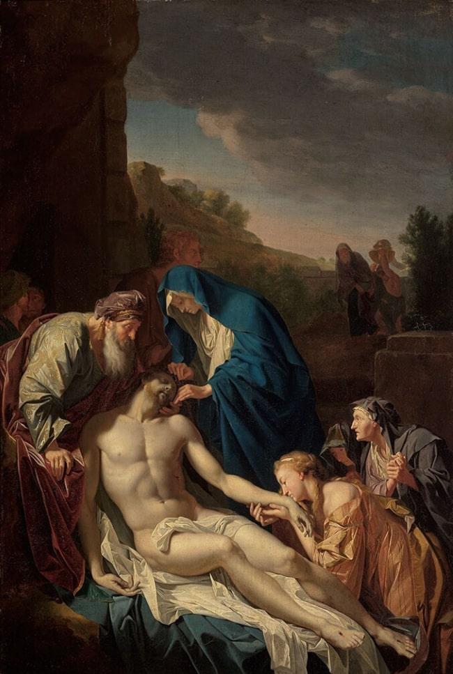 Entombment of Christ by Adriaen van der Werff