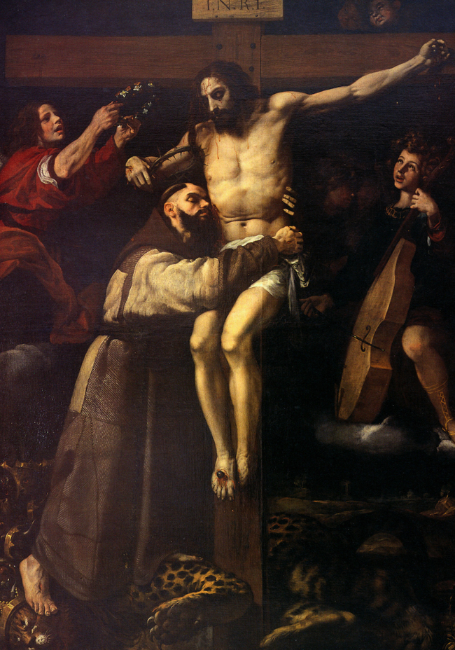 St. Francis Embracing the Crucified Christ by Francisco Ribalta