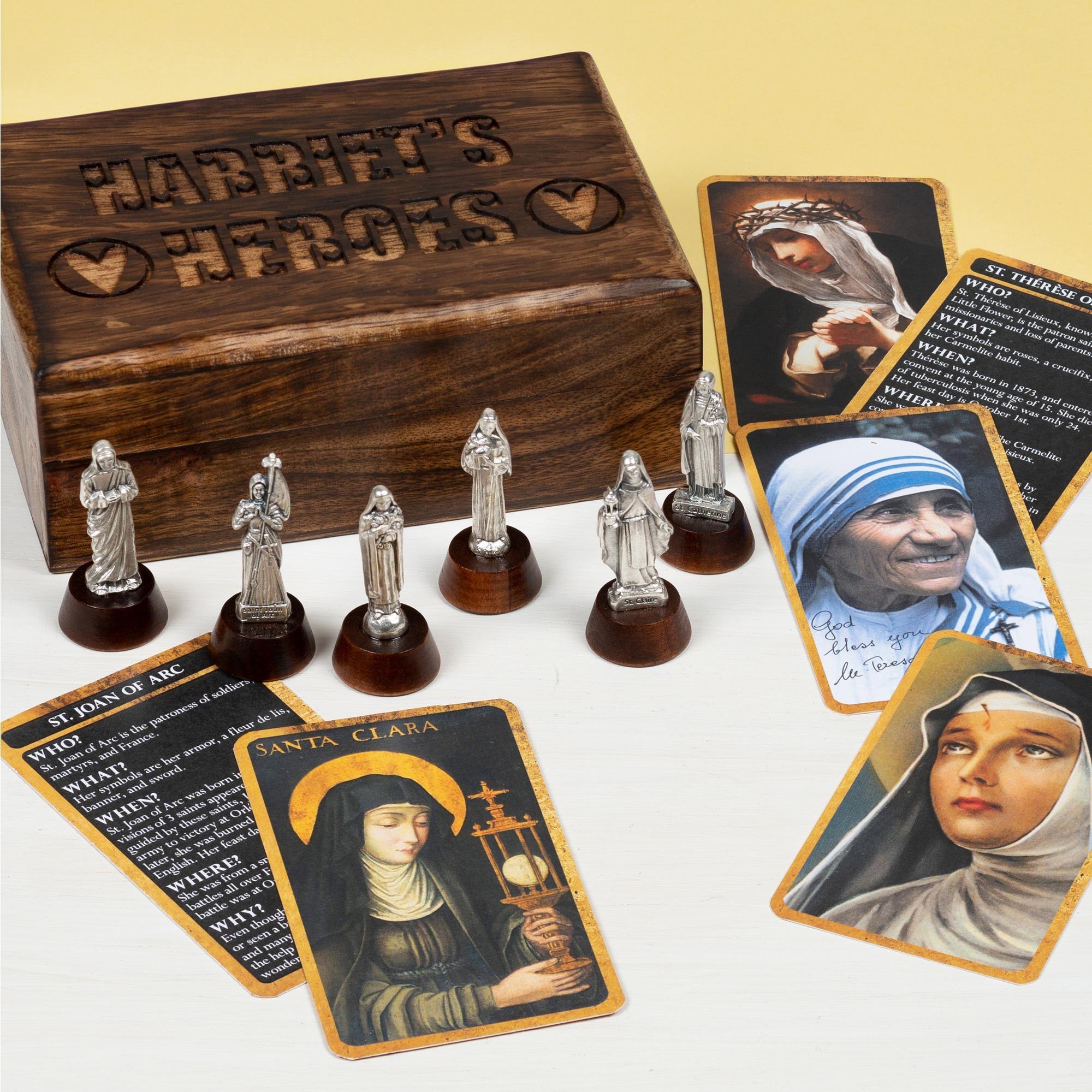 Girls' Personalized Hero Saint Box