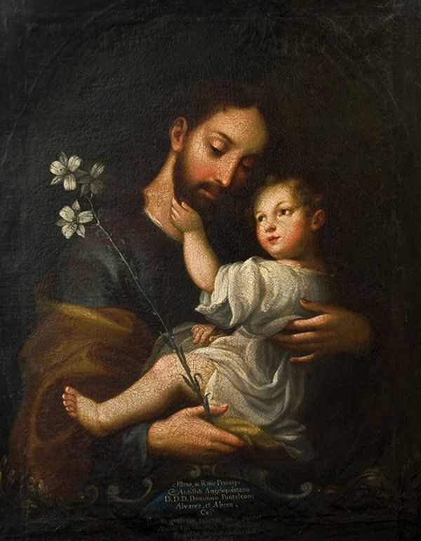 St. Joseph by Miguel Cabrera